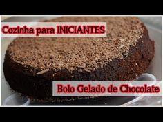 Bolo Gelado de Chocolate: Cozinha para Iniciantes #tododia17