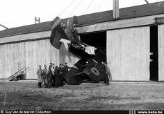 BE2c crash at Calais-Beaumarais