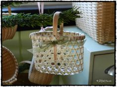 2012 Alice Ogden Christmas Ornament Basket.  There some amazing baskets on this site!!