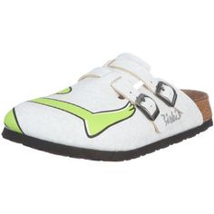 Birkis clogs Camden from Birko-Flor in Kermit Gray with a narrow insole  size 41.0 9b234805161