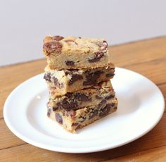 Malted Chocolate Chip Cookie Bars SQ2
