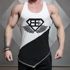 Tank Tops Clothing Casual vest men t shirts Summer Cotton Fit Men Bodybuilding Undershirt Golds Fitness man Casual Trends, Men Casual, Stringer Tank Top, Bodybuilding Clothing, Men's Bodybuilding, Body Building Men, Workout Tank Tops, Mens Fitness, Fitness Apparel