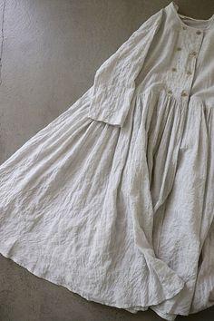 라르니에 정원 LARNIE Vintage&Zakka Mori Fashion, Fashion Sewing, Fashion Dresses, Womens Fashion, Linen Dresses, Cute Dresses, Casual Dresses, Mode Hijab, One Piece Dress