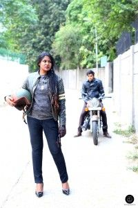 Outfit Post featuring Royal Enfield Gear & Wear Collection, Delhi. Check out how to style it for a ride or just to look swag.