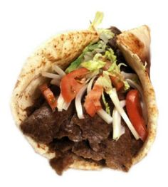 A great recipe that is as close to the real thing as I've tasted, and my own version of the sauce they serve on it. Donair Meat Recipe, Donair Sauce, Doner Kebab Sauce Recipe, Sauce Recipes, Meat Recipes, Cooking Recipes, Yummy Recipes, Traeger Recipes, Greek Recipes