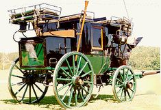 Carriages, and horse drawn conveyances in Georgian Britain Coaches For Sale, Horse Drawn Wagon, Old Wagons, Royal Mail, Cannon, Equestrian, Westerns, Guns, Park