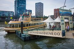 The famous all you can eat pancake boat cruise. #pancakes #holland #amsterdam