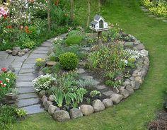 beet mit steinen – reimplica | Garten | Pinterest