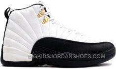 New Air Jordan 12 Retro 130690-125 White Black-Taxi 2013 Grade School s Shoe 96ee3946e