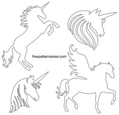 My First Unicorn Coloring Book. Perfect entertainment for your little ones,keep them coloring for hours with this Coloring Book with 31 Unicorn drawings! Unicorn Coloring Book for Kids Unicorn Stencil, Unicorn Art, Meaning Of Unicorn, Unicorn Images, Winged Horse, Quilting Stencils, Unicorns And Mermaids, Beautiful Unicorn, Stencil Templates