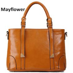 New 2014 fashion motorcycle famous brand patent leather bags 100% genuine leather women handbags shoulder women messenger bags $34.00