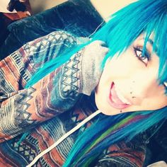 leda monster bunny | love her  I want her hair, face, clothes, life, etc. alskalksdjfaslkd