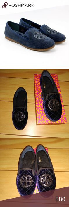 0a1a005bb73969 Tory Burch quilted Billy slippers velvet leather 8