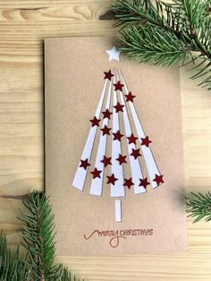 Christmas Paper Crafts, Homemade Christmas Cards, Printable Christmas Cards, Christmas Cards To Make, Christmas Diy, Christmas Messages, Easter Crafts, Christmas Cards For Children, Childrens Christmas Card Ideas