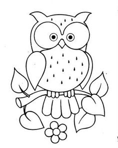 21 trendy Ideas for patchwork quilting patterns fun Owl Patterns, Applique Patterns, Quilting Patterns, Sewing Patterns, Owl Applique, Patchwork Patterns, Colouring Pages, Coloring Books, Kids Coloring