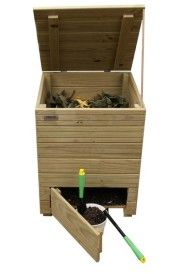 El compostaje, la mejor manera de reciclar y obtener un beneficio. Como realizar compost con URBANIC-Compost en Madera. El compostaje casero.