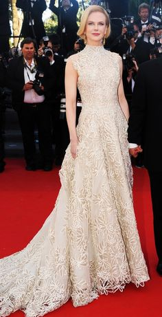 Nicole Kidman in a Valentino Haute Couture gown - click through for more of her best Cannes dresses ever