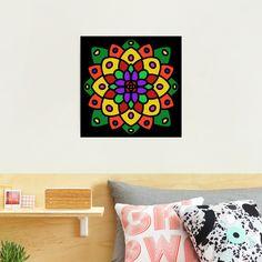 """Flower of Life Mandala"" Photographic Print by Pultzar   Redbubble"