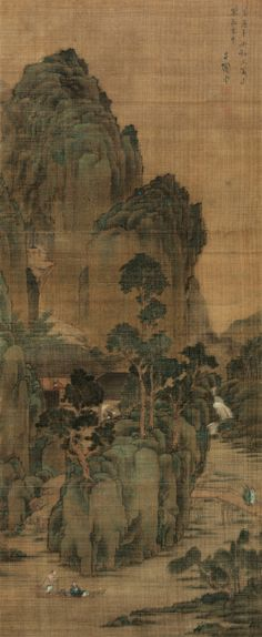 Li Tunan(1567-1638) - Classical Chinese Painting and Calligraphy from the Yisushanfang Collection - MING DYNASTY