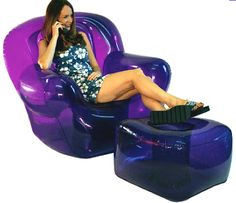 Having your room full of blow up furniture!