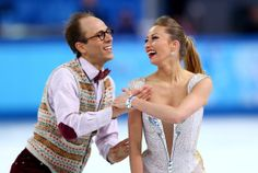 Nelli Zhiganshina and Alexander Gazsi of Germany compete in the Figure Skating Team Ice Dance - Short Dance during day one of the Sochi 2014...