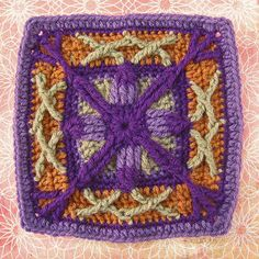Ravelry: Project Gallery for Granny Square 66 pattern by Patricia Kristoffersen