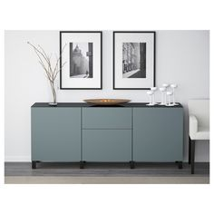BESTÅ Storage combination with drawers - walnut effect light gray/Selsviken high-gloss/white, drawer runner, soft-closing - IKEA Soft Closing Hinges, Ikea Family, Ikea Us, Affordable Furniture, Drawer Fronts, Interior Accessories, Adjustable Shelving, Storage Spaces, Ikea Storage