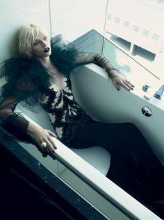 ☆ Aline Weber   Photography by Emma Summerton   For Vogue Magazine Italy   November 2011 ☆ #Aline_Weber #Emma_Summerton #Vogue #2011
