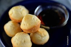 Perfect Pancake Muffins Recipe from addapinch.com