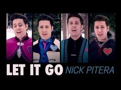 Let It Go - Disney's Frozen - Nick Pitera (Cover) - YouTube