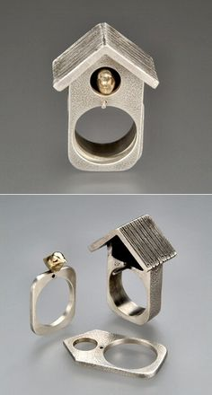 Kinetic Jewellery - Ring by Amy Johnston