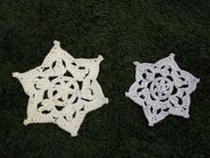 CRYSTAL LACE SNOWFLAKE - free crochet pattern