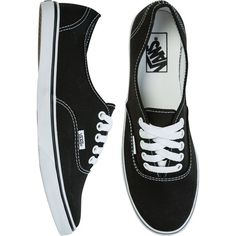 VANS Authentic lo pro shoe (€37) ❤ liked on Polyvore