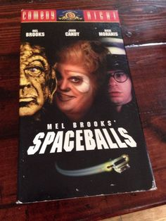 Spaceballs VHS Star Wars Spoof Comedy