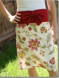 this skirt is made out of 3 classy napkins.