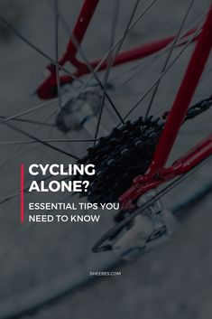 Cycling alone is the perfect opportunity for you to destress and master your cycling skills. But before you head out the door, there are a few vital tips you need to know about cycling alone. Cycling Tips, Cycling Workout, Road Cycling, Road Bike, Swimming Tips, Swimming Workouts, Spin Bike Workouts, Fixed Gear Bicycle, Bicycle Safety