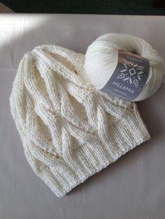Winter Hat knitting project by GRACE