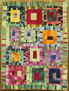 improvisational quilt piecing | ... be found here . She pieced the quilt using improvisational piecing