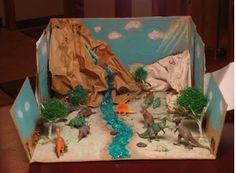 Ideas for Dioramas In A Shoebox Nkhnh Fresh 33 Awesome Shoebox Diorama Desert Images Dinosaur Projects, Dinosaur Crafts, Animal Projects, School Projects, Projects For Kids, Art Projects, Crafts For Kids, Shoe Box Diorama, Diorama Ideas