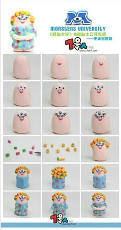 Monsters University: Sheri Squibbles Picture Tutorial