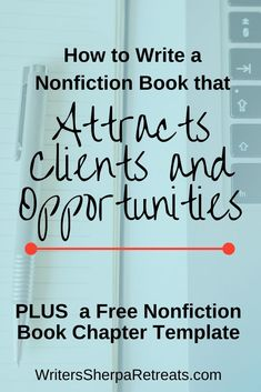 How to Write a Nonfiction Book— Click to get a free nonfiction book chapter template! Writing tips, writing inspiration, make money writing, become an author, write a book, write a nonfiction book, write a self help book, how to write a nonfiction book Make Money Writing, Start Writing, Writing Help, Writing A Book, Authors, Writers, Becoming A Writer, Writer Tips, What Book