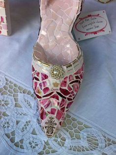 china mosaic stiletto  http://www.facebook.com/pages/Suzi-Homefaker/157277567665756
