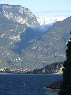 Lake Garda, Italy... When I was 14, on a holiday in Peschiera