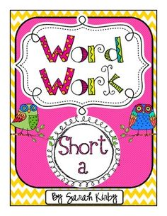 Welcome to Word Work!  This pack contains 10 word work activities for your students.  After juts a small amount of prep work, your job is done and ...