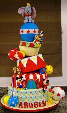 Disney circo. TORTAS