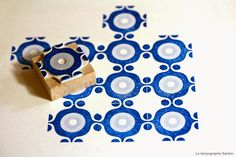 "Le Tampographe Sardon: make ""tile - look - alike"" pattern for the summer house, morocco room..?"