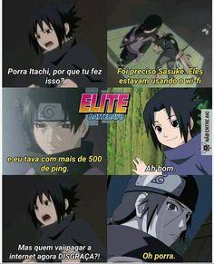 O real motivo: Kakashi Hokage, Sasuke And Itachi, Naruto Shippuden Sasuke, Anime Naruto, Shikamaru, Manga Anime, Anime Meme, Otaku Meme, Sasunaru