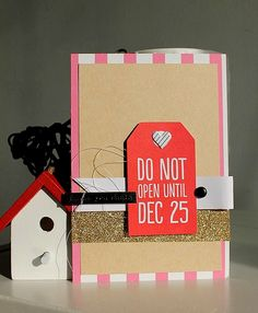 November 2014 HIP KIT CLUB card created by DT member, Kali Bertazzon