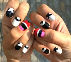 Look At Her Nails!