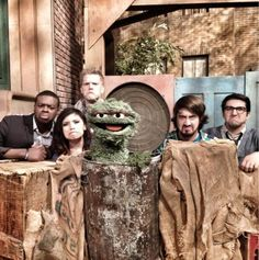 Pentatonix with Oscar the Grouch | PTX on Sesame Street, 25 April 2013